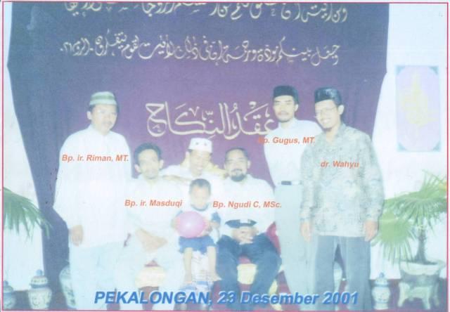 Pernikahan 23 Desember 2001
