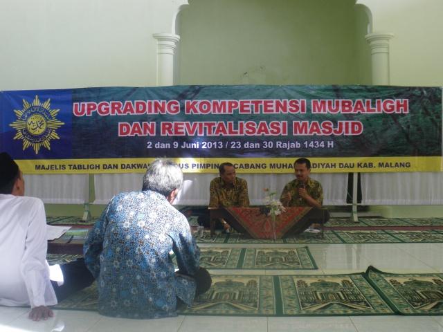 UPGRADING MUBALIGH & TAKMIR MASJID PCM DAU-KRPLOSO